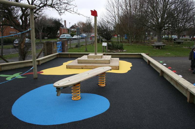 Desert Island Playground Design